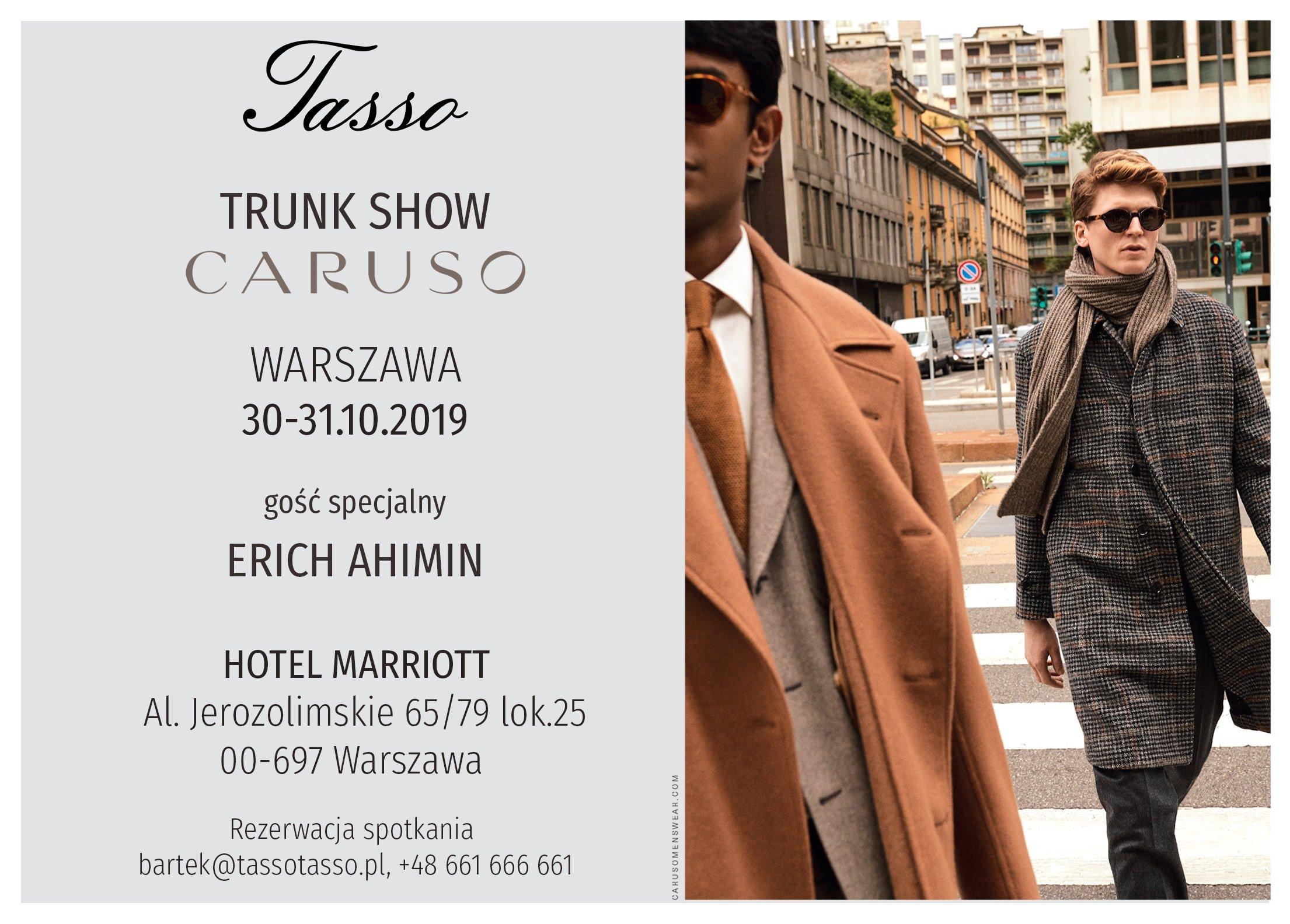Trunk Show w Atelier Tasso!