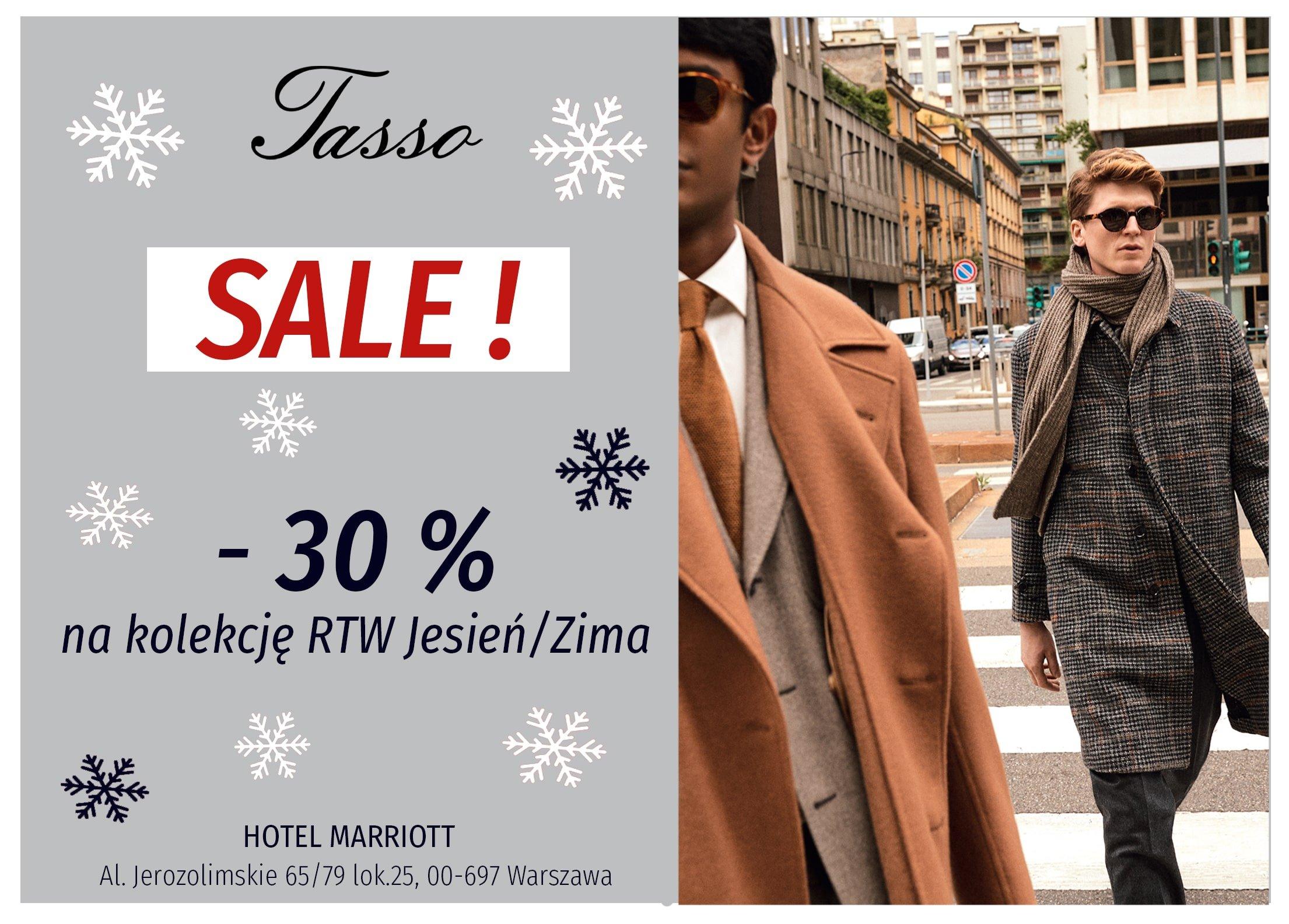 Oferta świąteczna! -30% na całą kolekcję RTW Jesień/Zima