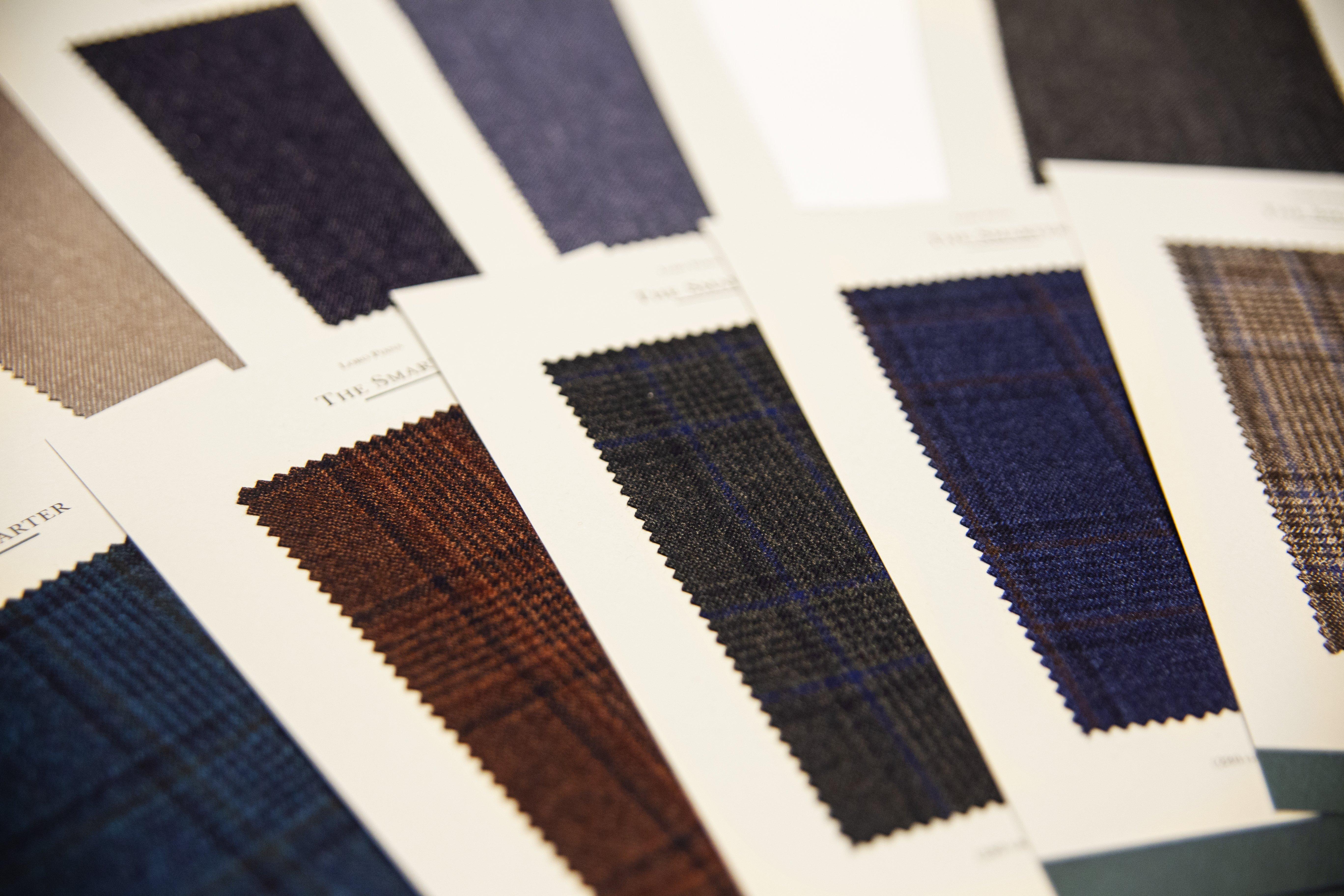 Nowe tkaniny od Loro Piana!