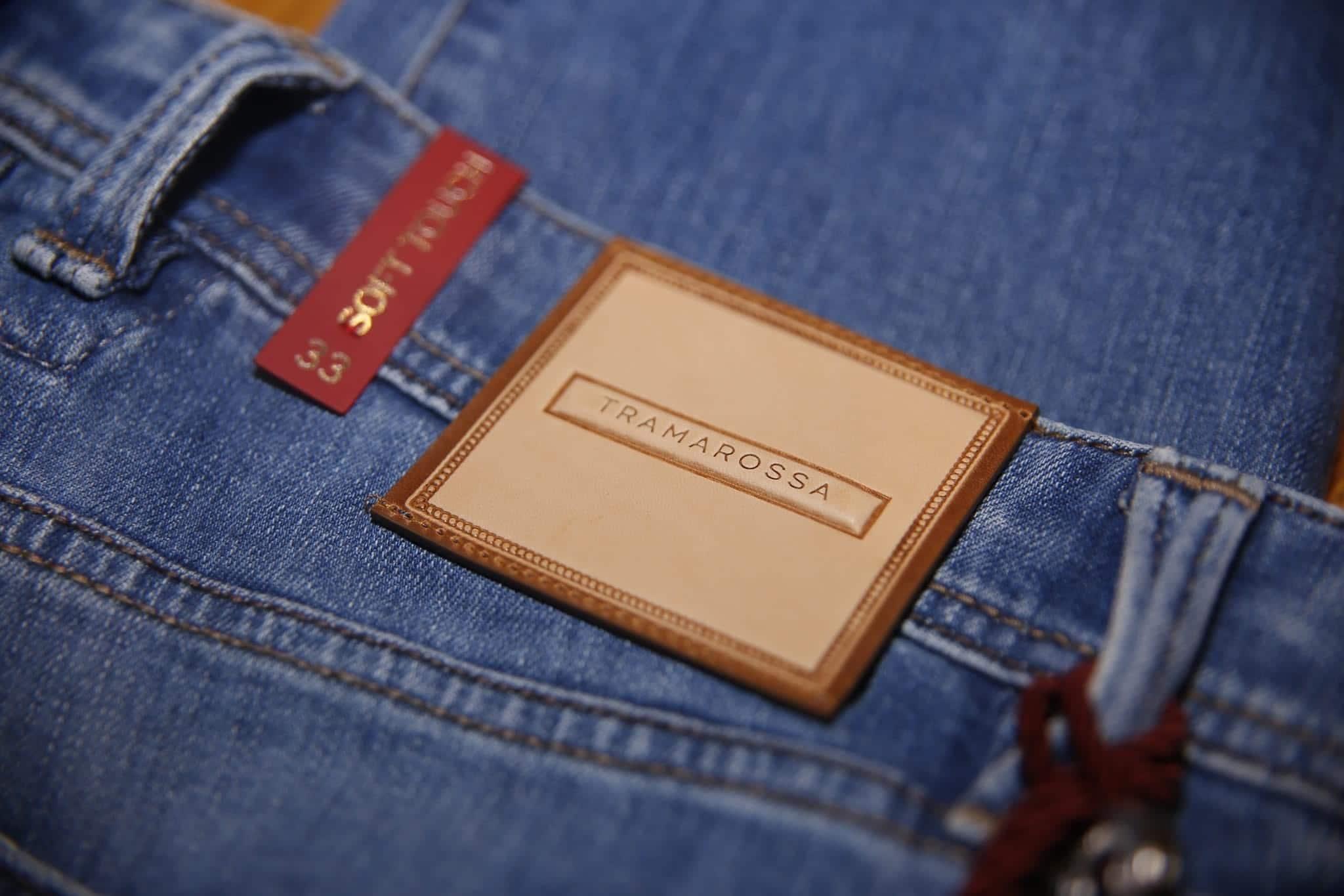 Nowy model jeansów od Tramarossa.